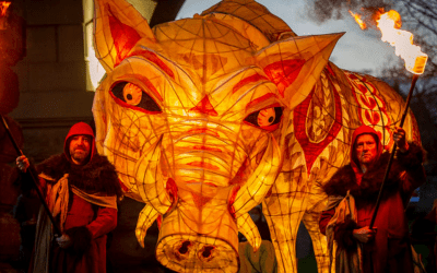 Mythical Beast Performance and Lantern parade